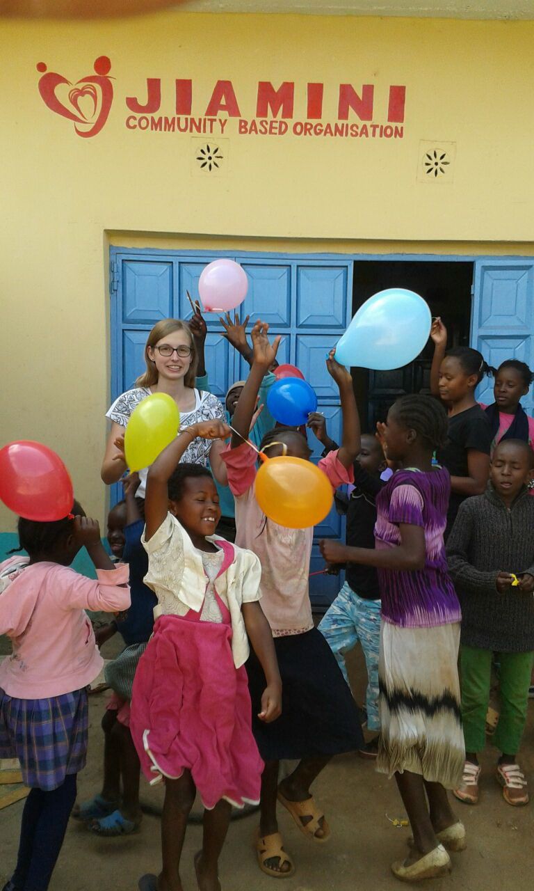 Freiwillige in Kenia