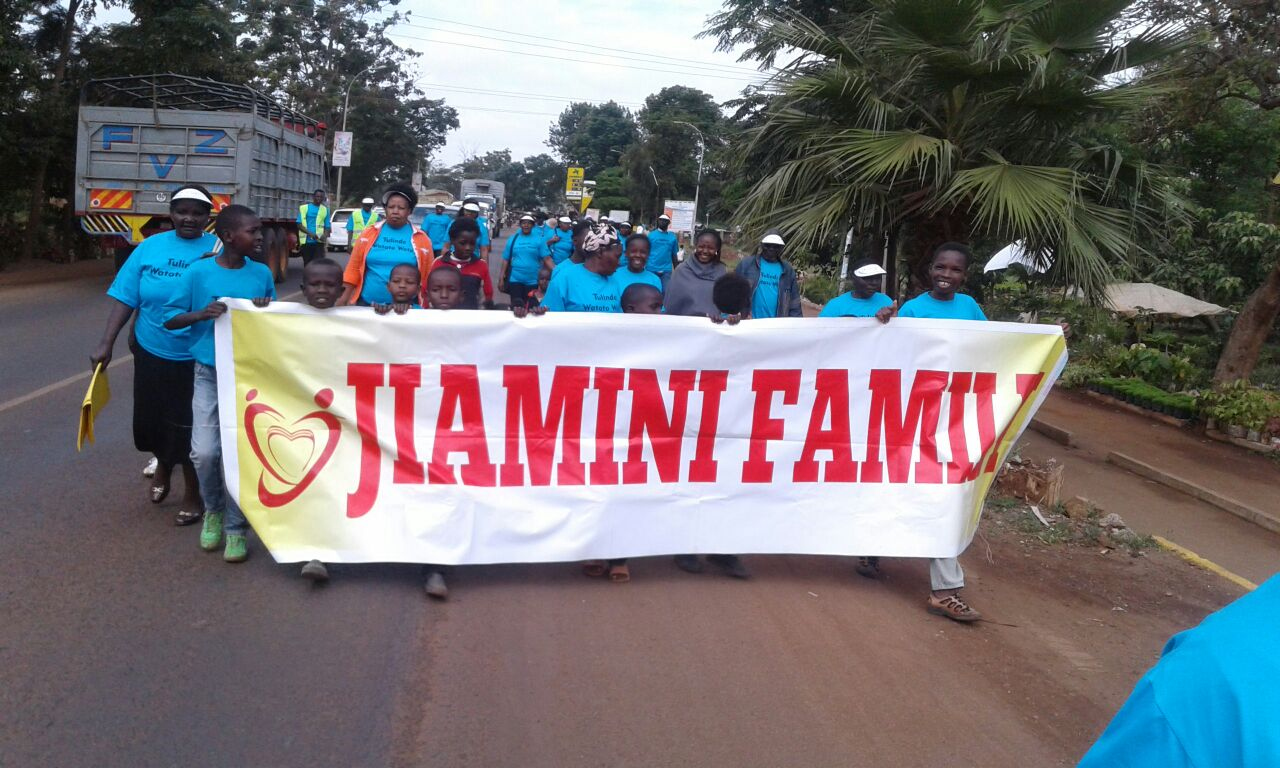 """""""Child Protection Walk"""" in Thika"""