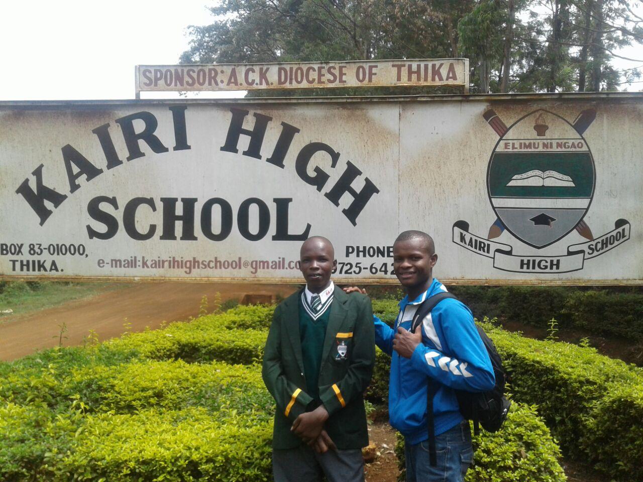 Dennis und Mercy besuchen nun die High-School