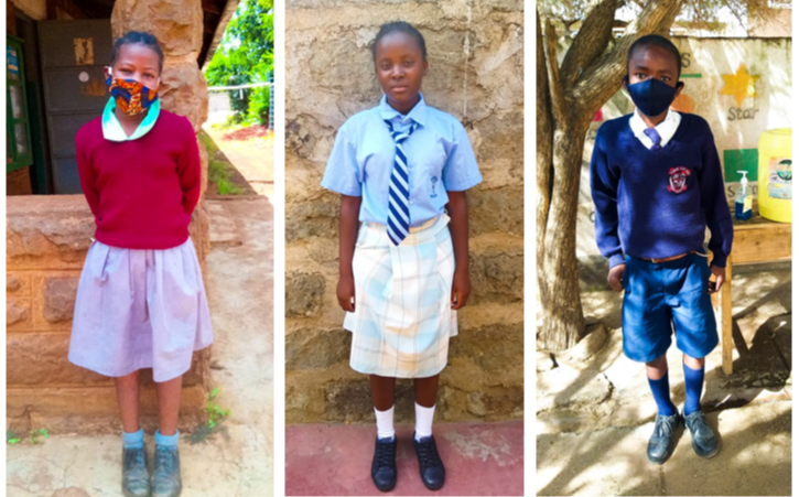 Die ersten Jiamini-Kinder dürfen wieder zur Schule gehen